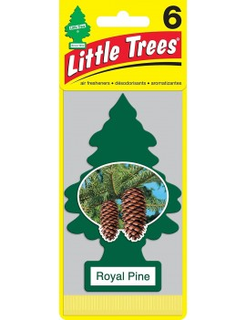 Little Trees Royal Pine Air Freshener With Car Cleaning Hand Gloves