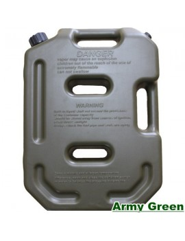 Motopart Leh-Ladakh Jerrycan/Practical Long-Haul 10L Gasoline Diesel Fuel Pack Tank For Thar Red