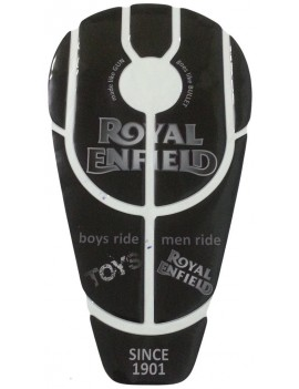 Motopart Customized Enfield Bullet full Tank Pad Tank Sticker Protector Pad For Royal Enfield