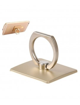 Stand Holder/Mobile Phone Ring Stent/Guard Against Theft Clasp/360 Degree Rotating Metal Ring Holder