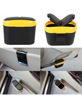 car Mini Trash Dustbin Box Case Holder Bin Hook Home Office Small Trash Can (Car Transhbin)