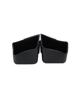 2 X Car Pillar Pocket Holder Box Cigarette Cellphone Sunglass Holder Black For All Car