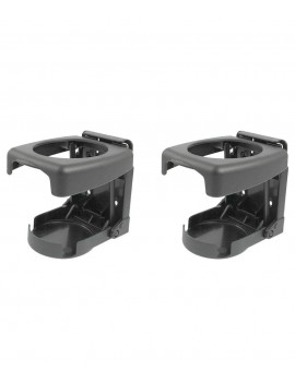 Foldable Car Drink Cane Holder Black