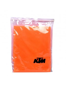 Waterproof Body Cover Motopart Premium Quality Bike Body Cover With Mirror Pockets Orange  - KTM Duke 200