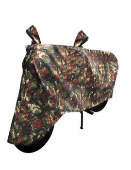 Waterproof Body Cover Motopart Premium Quality Bike Body Cover Jungle Print for Bike