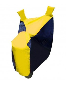 Waterproof Body Cover Motopart Blue & Yellow Bike Body Cover
