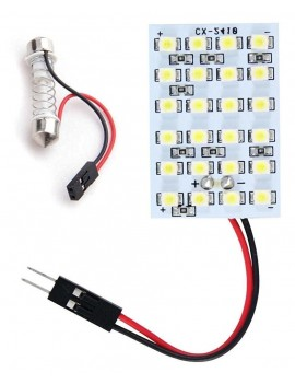 Motopart 24 SMD White LED...