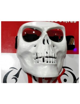 AV White Skull  Full Face...
