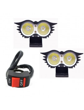 Bike Fog Lamp 2 Led and...