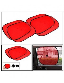 Car Window Sunshade Red -...
