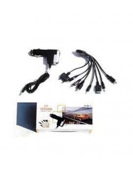 TITONI 10 in 1 Multi port Car Mobile Charger