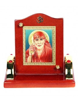 Gfaith Aashirwad Golden Sai Baba Ji God Idol