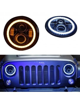 7 Inch Round LED Headlights...