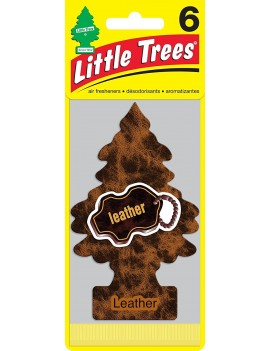Little Trees Leather Air Freshener With Car Cleaning Hand Gloves