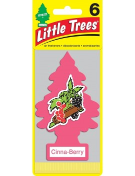 Little Trees Cinna-Berry Air Freshener With Car Cleaning Hand Gloves