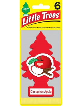 Little Trees Cinnamon Apple Air Freshener With Car Cleaning Hand Gloves