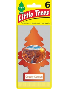 Little Trees Copper Canyon Air Freshener With Car Cleaning Hand Gloves