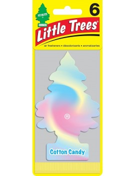 Little Tree Cotton Candy With Car Cleaning Hand Gloves